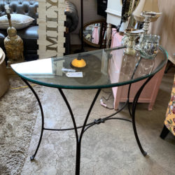 Semi Circle Console Table