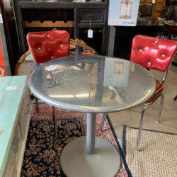 Metal Bistro Table