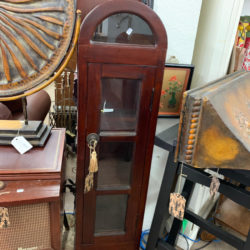 Domed 3 Shelf Curio Cabinet